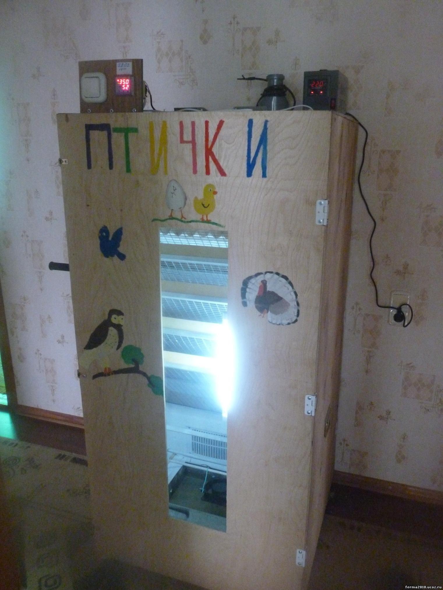 Инкубатор своими руками холодильника фото