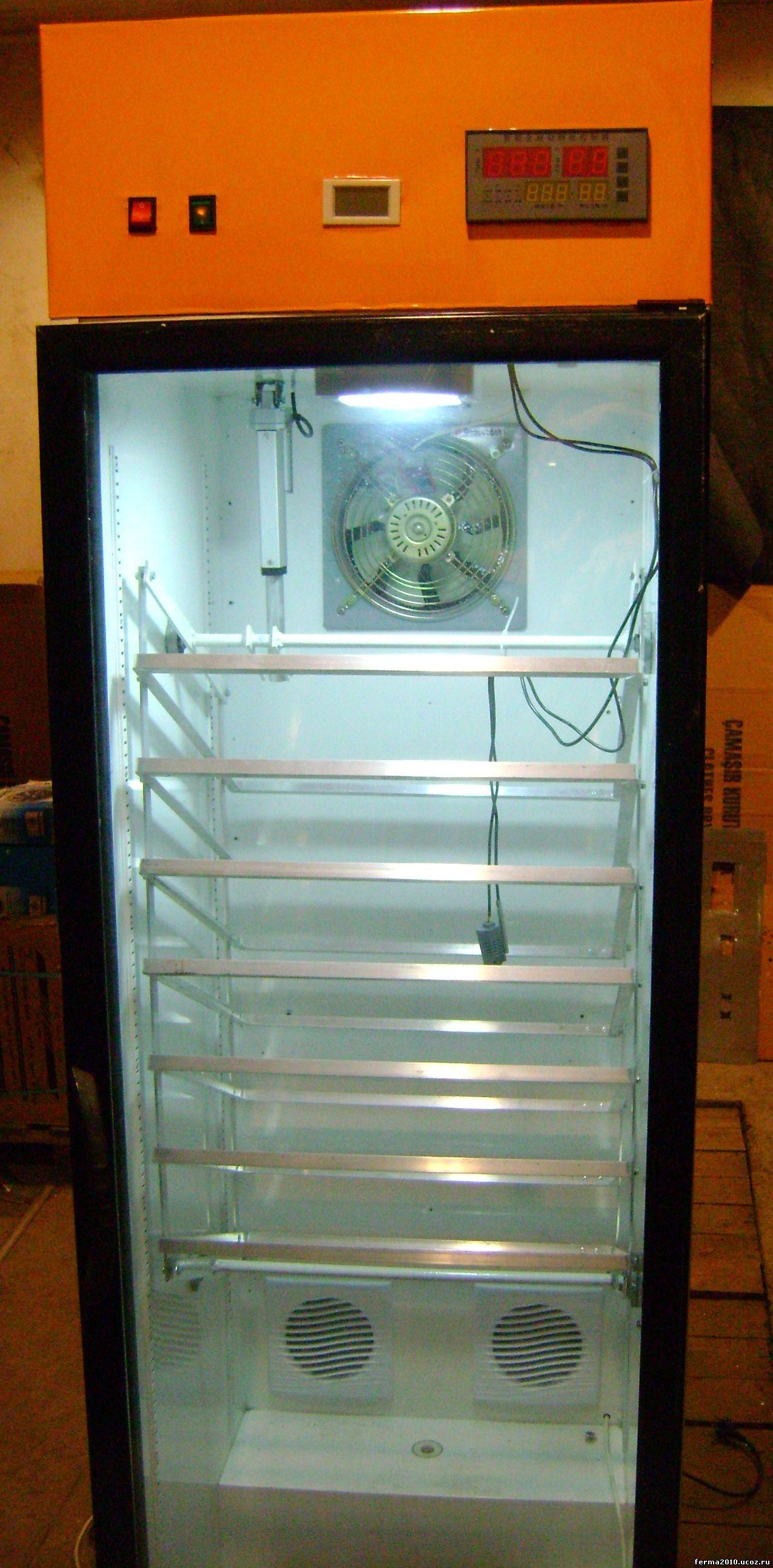 схема домашнього інкубатора