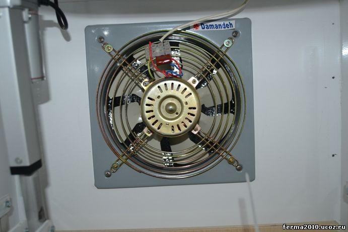 Вентилятор на инкубатор своими руками
